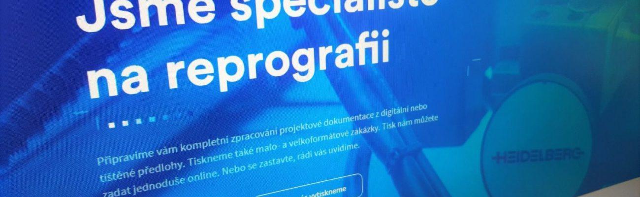 Nový web Copy centra Centroprojektu ve Zlíně