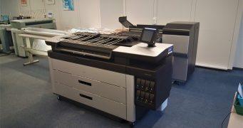 Nová profesionální tiskárna HP PageWide XL 5000 v copycentru Copy Zlín